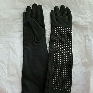 Studded Gloves by Brian Atwood by Neiman Marcus